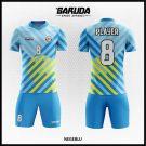 Desain Jersey Futsal Printing Negeblu Warna Biru Tosca Tampil Lebih Cool