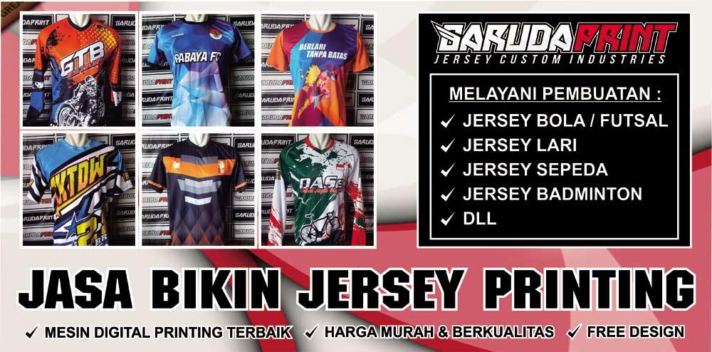 Jasa Pembuatan Bikin Jersey Olahraga Printing Termurah DI Indonesia