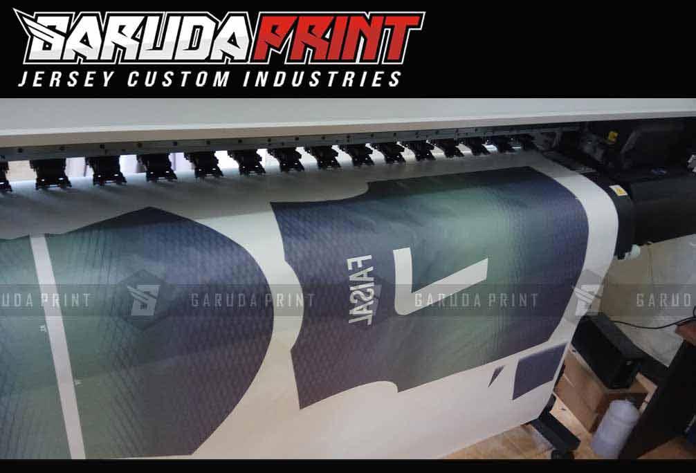 Jasa Pembuatan Jersey Printing INDOFARMA