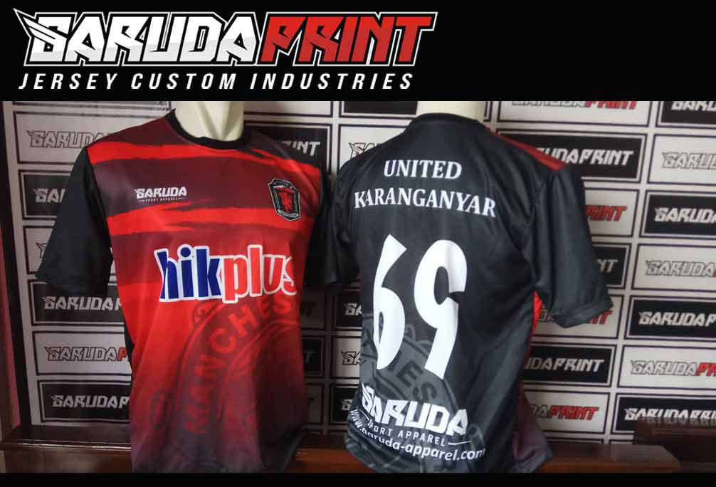Pembuatan Jersey Printing PT MAHAKA MEDIA