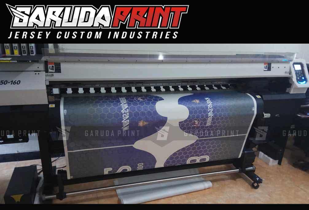 Pembuatan Jersey Printing PT SIANTAR TOP