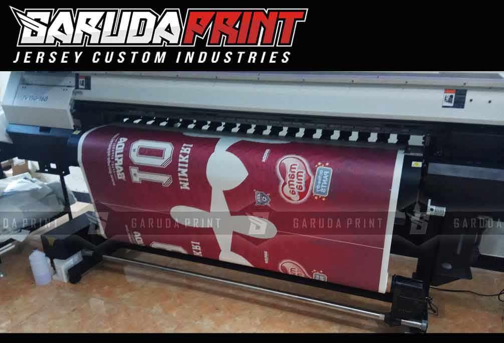 Pembuatan Jersey Printing PT SIDO MUNCUL