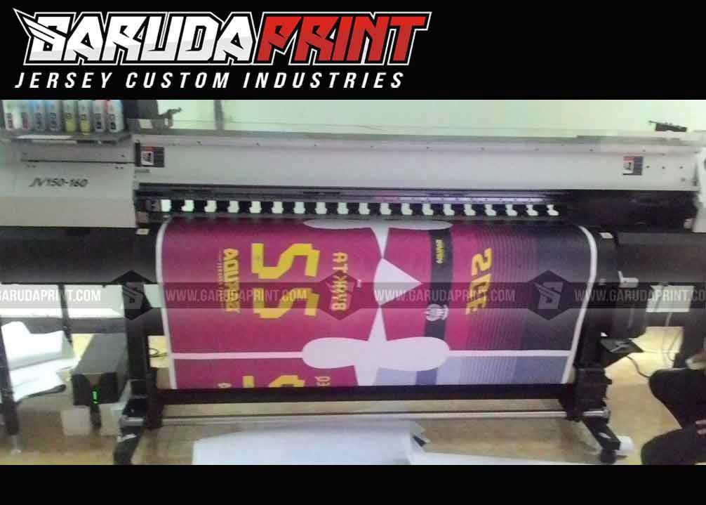 Pembuatan Jersey Printing Lion Air