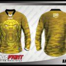 Desain Baju Sepeda Downhill Anytigro Motif Loreng Harimau