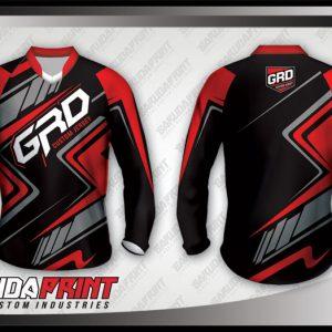 Desain Baju Sepeda Downhill Slash Super Elegant