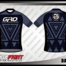 Desain Baju Sepeda Roadbike Darknic Hitam Abu Abu Terbaru