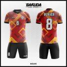 Desain Jersey Futsal Bouxe Warna Coklat Hitam Terbaik