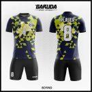 Desain Jersey Futsal Boyind Warna Biru Hitam Paling Keren