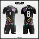 Desain Jersey Futsal Clowbak Warna Hitam Paling Keren