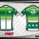 Desain Jersey Sepeda Road Bike Box To Box Warna Hijau