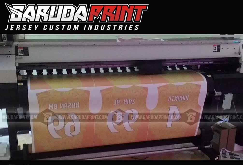 Jasa Pembuatan Jersey Printing BANK DANAMON INDONESIA