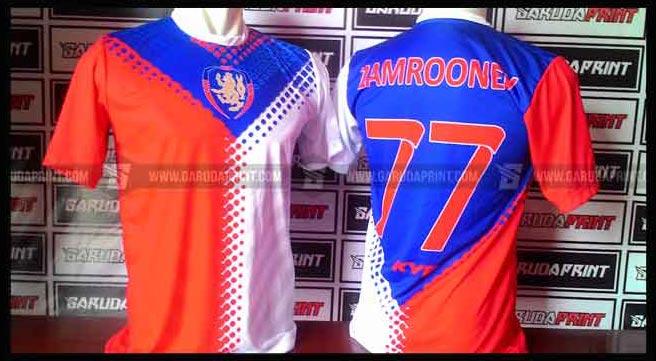 Jasa Pembuatan Jersey Printing PT. CHEVRON PASIFIC INDONESIA CPI