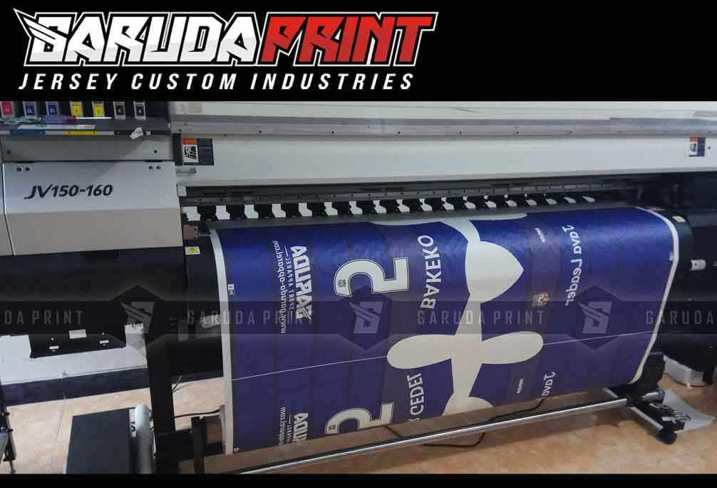 Pembuatan Jersey Printing BANK MANDIRI