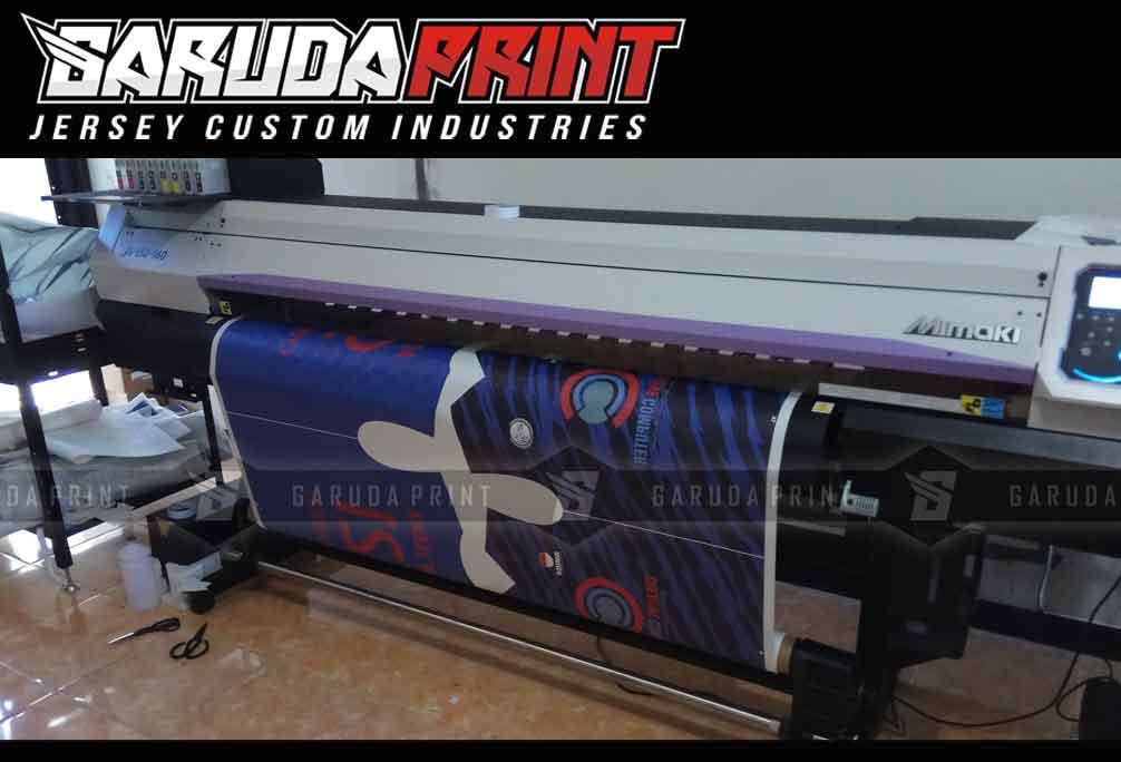 Pembuatan Jersey Printing BANK NEGARA INDONESIA BNI