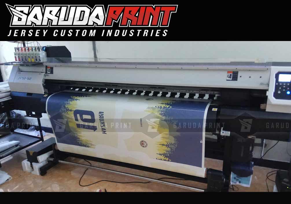 Pembuatan Jersey Printing BP AMOCO