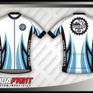 Desain Baju Sepeda Gowes Forza Warna Putih Terbaru