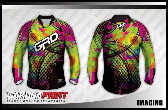Desain Baju Sepeda MTB Gunung Imaging Tampil Lebih Tendy