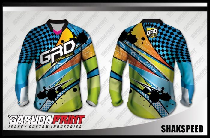 Desain Baju Sepeda MTB Shakspeed Yang Mempesona