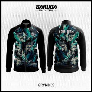 Desain Jaket Printing Warna Hitam Bergaya Lebih Stylish