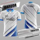 Desain Jersey Badminton Thertess Warna Silver Tampil Beda