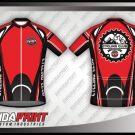 Desain Jersey Sepeda Gowes Luxury Warna Merah Hitam Menawan