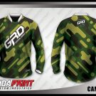 Desain Jersey Sepeda MTB Camoflos Motif Doreng Army Modern