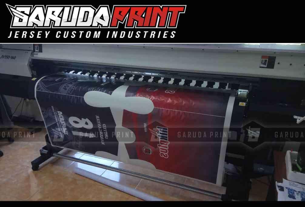 Jasa Pembuatan Jersey Printing PT LIPPO KARAWACI TBK