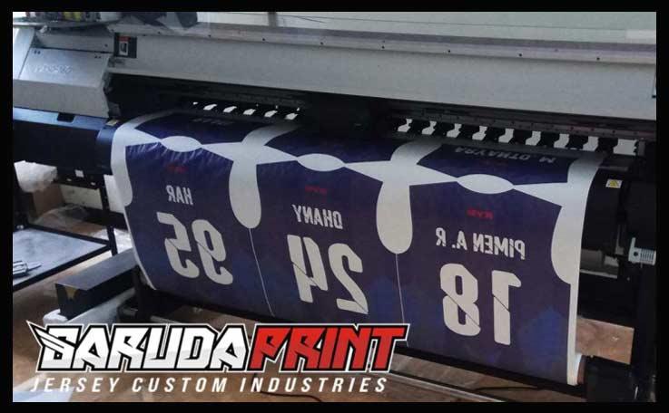 contoh printing bikin baju futsal