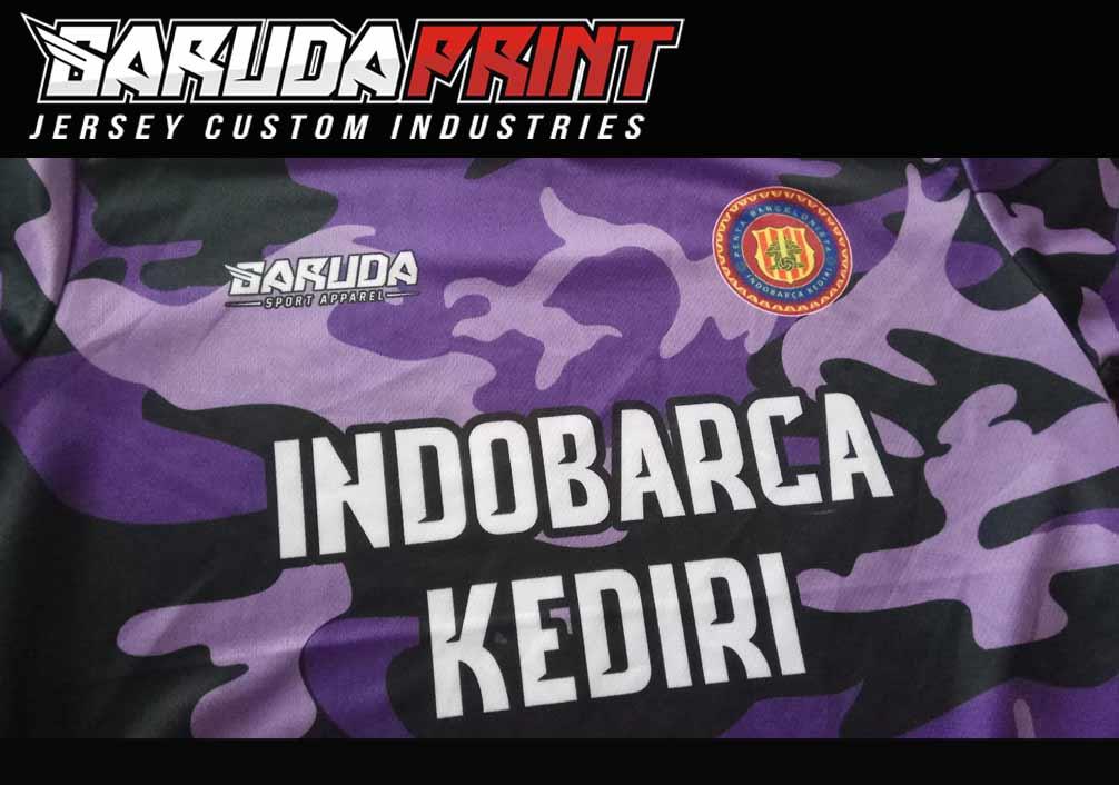 Bikin Jersey Full Printing Berkualitas di Kediri